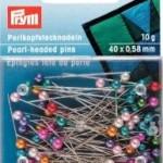Perlkopf Stecknadeln 10 g Kunststoffdose